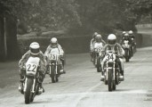 Dennis Prosser leads the pack in 1977