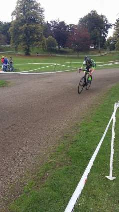 Aero In A Cross Race